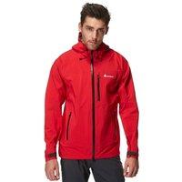 Technicals Mens 3 Layer Waterproof Jacket, Red