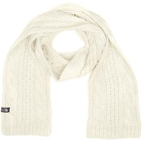 The North Face Womens Cable Minna Scarf, White