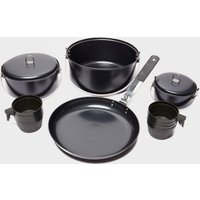 Vango Non-Stick Family Camping Cook Set, Black