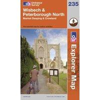 Ordnance Survey Explorer 235 Wisbech & Peterborough North Map, Assorted