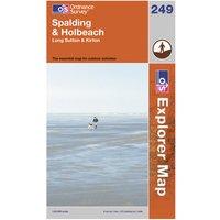 Ordnance Survey Explorer 249 Spalding & Holbeach Map, Assorted