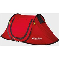 Eurohike Pop Up 200 SD 2 Man Tent, Red