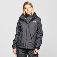 The North Face Womens Resolve HyVent Jacket, Black