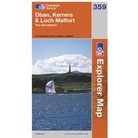 Ordnance Survey Explorer 359 Oban, Kerrera & Loch Melfort Map, Assorted