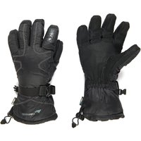 Trekmates Womens mountainXT DRY Snow Gloves, Black