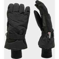 Peter Storm Mens Microfibre Waterproof Gloves, Black