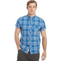 Protest Mens Energy Short Sleeve Shirt, Blue
