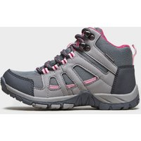 Peter Storm Girls Headley Waterproof Mid Walking Boot, Grey