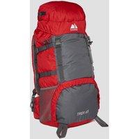 Eurohike Trek 65L Backpack, Red