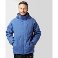 Peter Storm Mens Lakeside 3 in 1 Jacket, Blue