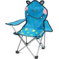 Eurohike Kids Hippo Folding Chair, Blue