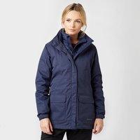Peter Storm Womens Insulated 3 in 1 Waterproof Jacket, Navy