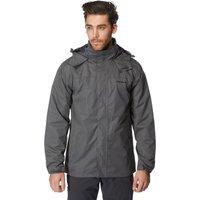 Peter Storm Mens Downpour Waterproof Jacket, Grey