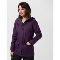 Peter Storm Womens Insulated 3 in 1 Waterproof Jacket, Purple
