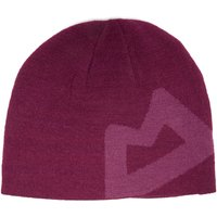 Mountain Equipment Womens Branded Knit Beanie, Purple