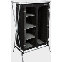 Eurohike 4 Shelf Collapsible Wardrobe, Black