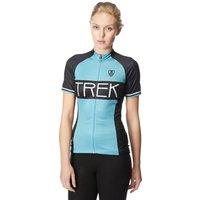 Bontrager Womens RL Short Sleeve Jersey, Blue