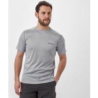 Columbia Mens Zero Rules Short Sleeve Shirt, Grey