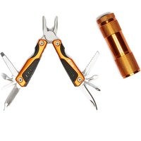 Trekmates Amber Tool and Torch Set, Gold