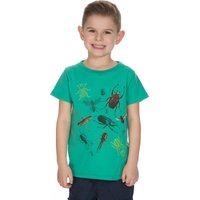 Peter Storm Boys Insects Tee, Green