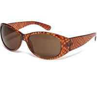 Peter Storm Womens Cross Pattern Sunglasses, Brown