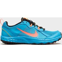Nike Womens Wild Trail Running Shoe, Blue