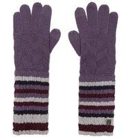 Smartwool Womens Chevron Gloves, Purple