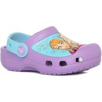 Crocs Girls Creative Crocs Frozen Clog, Purple