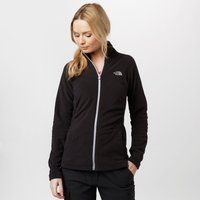 The North Face Womens Mezzaluna Full-Zip Fleece, Black