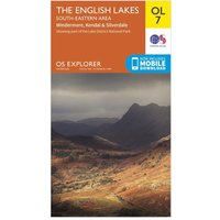 Ordnance Survey OL 7 Explorer The Lake District: South-eastern area Map, Assorted