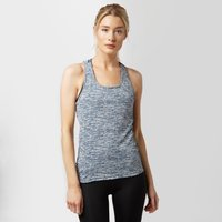 Adidas Womens Supernova Fitted Tank Top, Blue