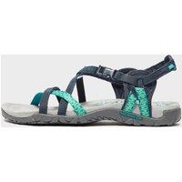 Merrell Womens Terran Lattice Sandals, Blue