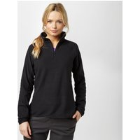 Berghaus Womens Hartsop Half-Zip Micro Fleece, Black