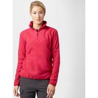 Berghaus Womens Hartsop Half-Zip Micro Fleece, Pink