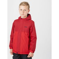 Peter Storm Boys Insulated Waterproof Jacket, Red