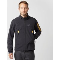 Jack Wolfskin Mens Muddy Track Jacket, Black