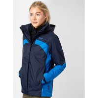 Jack Wolfskin Womens Risco 3 in 1 Jacket, Navy