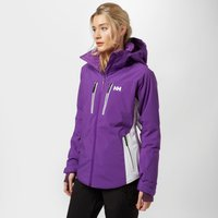 Helly Hansen Womens Motion Stretch Ski Jacket, Purple