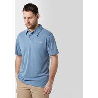 Columbia Mens Sun Ridge Polo Shirt, Light Grey