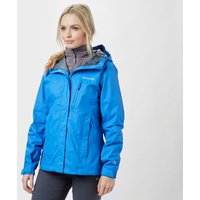 Columbia Womens Pouring Adventure Jacket, Bright Blue