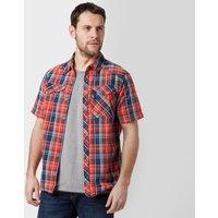 Berghaus Mens Explorer Eco Short Sleeve Shirt, Mid Blue