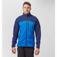 Marmot Mens Estes Hooded Softshell Jacket, Blue