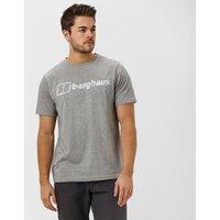 Berghaus Mens Logo T-Shirt, Mid Grey