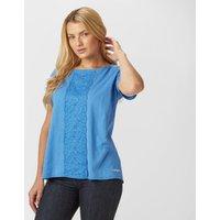 Craghoppers Womens Connie T-Shirt, Blue