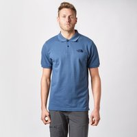 The North Face Mens Polo Piquet, Blue