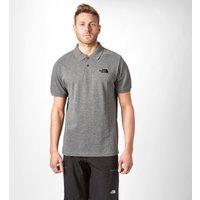 The North Face Mens Polo Piquet, Grey