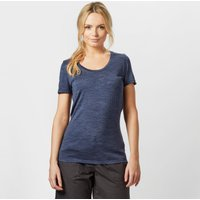 Icebreaker Womens Tech Lite Short Sleeve Crew Tee, Navy