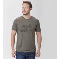 Icebreaker Mens Tech Lite Short Sleeve T-Shirt, Khaki