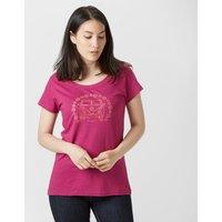 Peter Storm Womens Camper T-Shirt, Pink