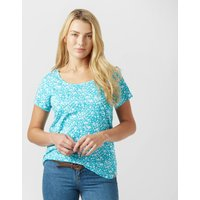 Peter Storm Womens Ditsy T-Shirt, Blue